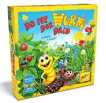 Zoch 601132100 Juego De Mesa Da Ist Der Wurm Drin Instrucciones