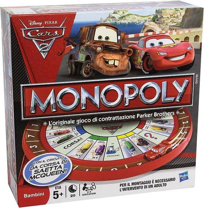 Hasbro - Monopoly Cars 2 Juego de Empresa: Amazon.es: Juguetes y juegos