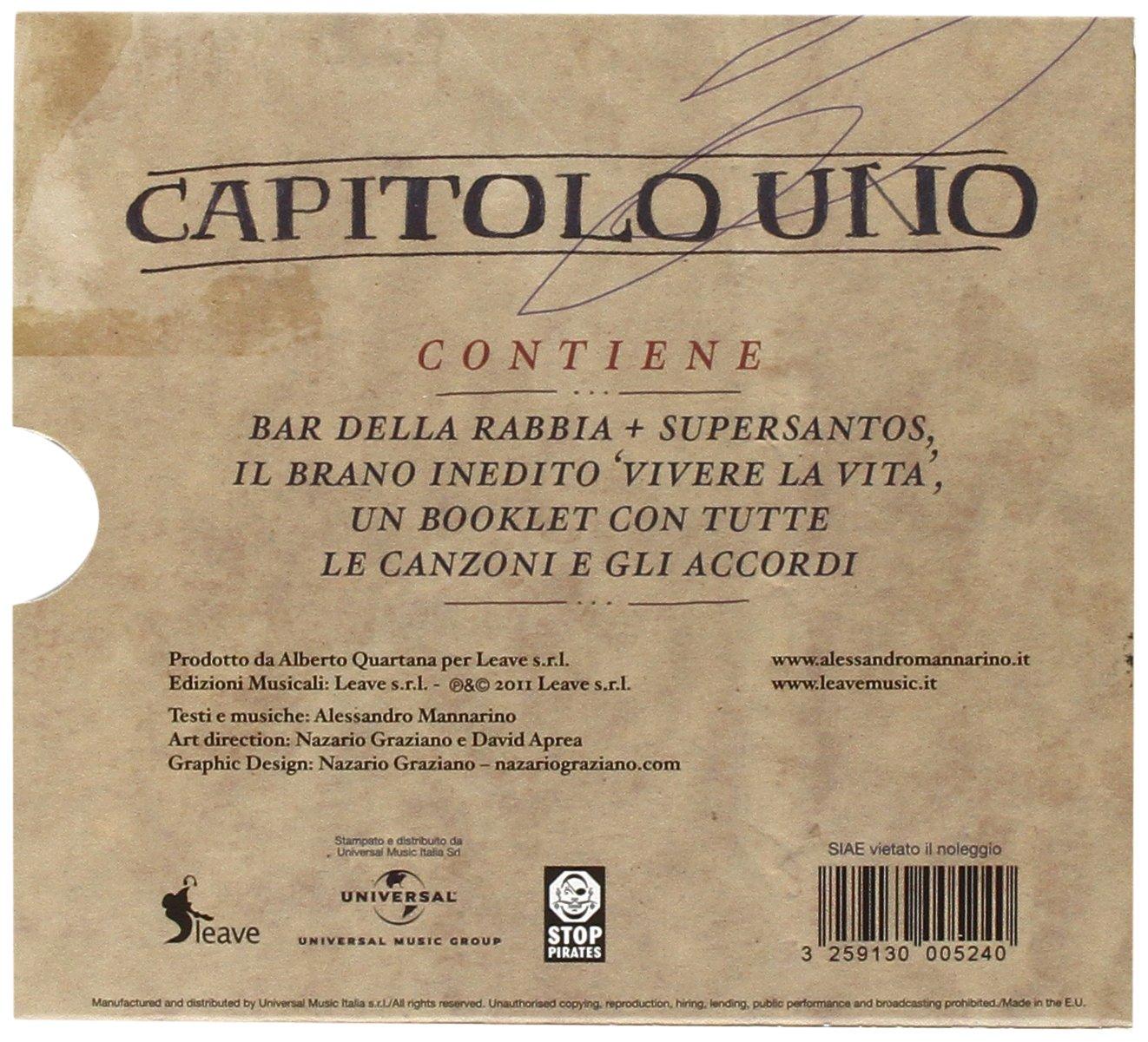 Capitolo Uno Amazonit Musica