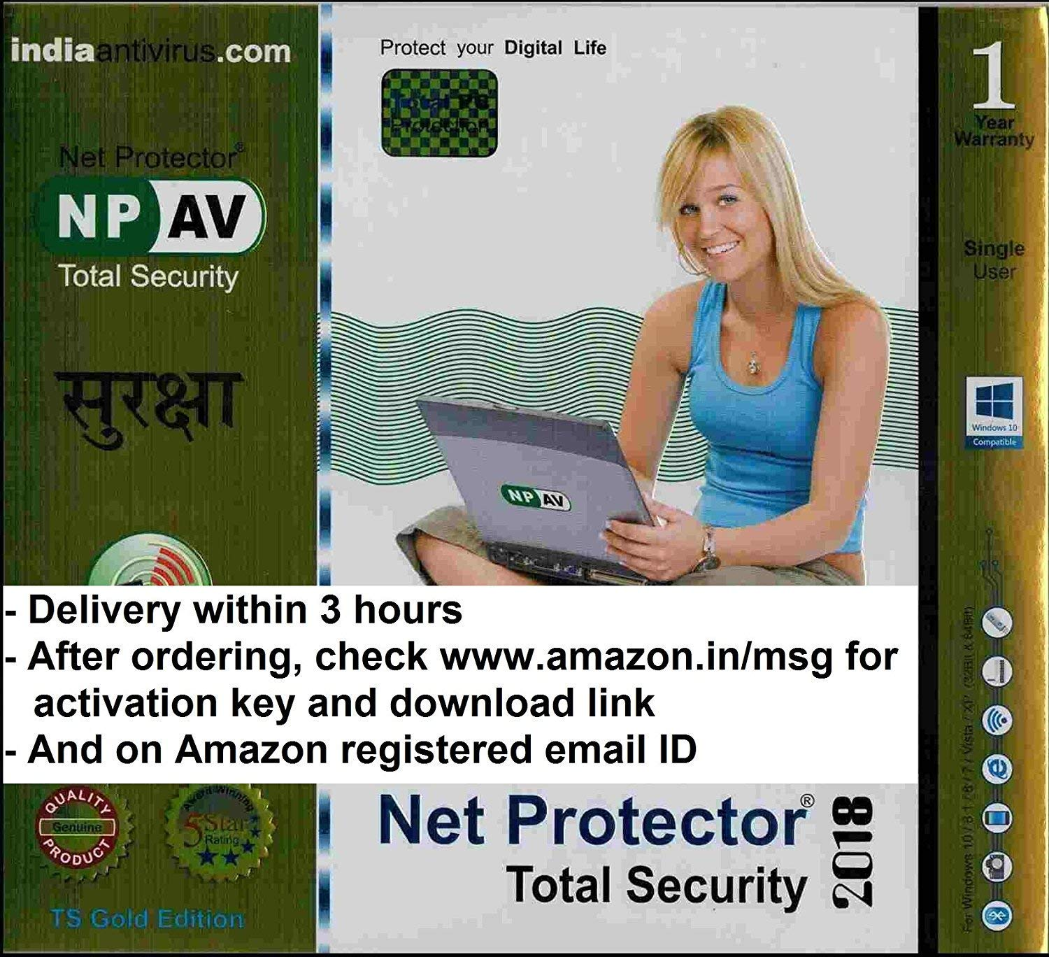 Net Protector Total Security 2019 1PC 1 Year ( INSTANT LICENCE KEY