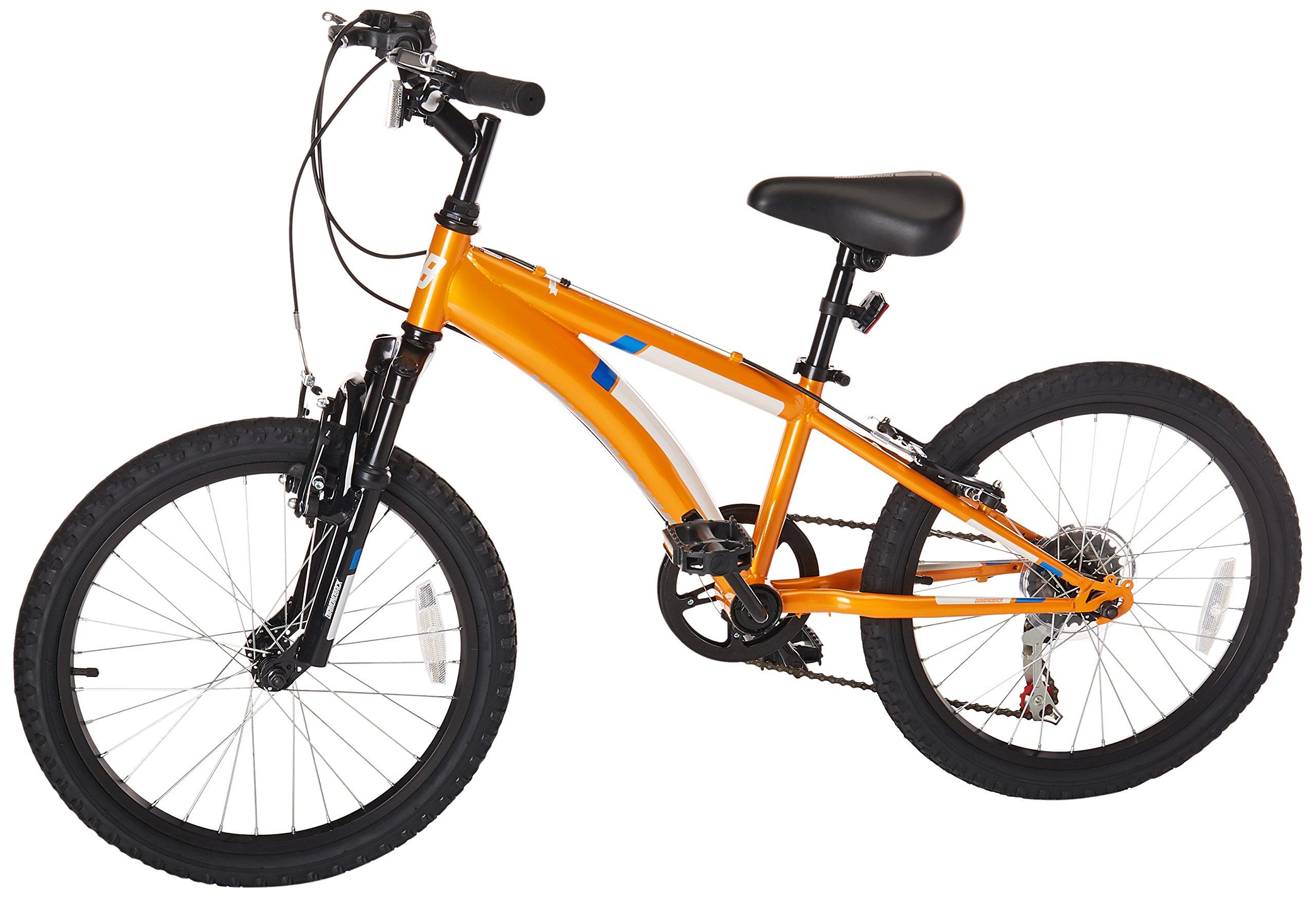 Diamondback Bicycles Cobra Kid's Mountain Bike, 20'' Frame, Orange