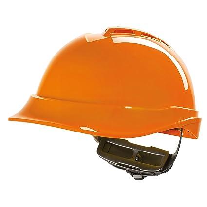 EL MSA V-Gard Casco EN397 - Casco de trabajador de construcción Cascos de trabajo