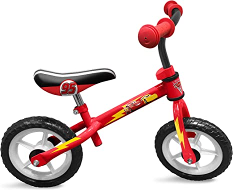 STAMP SAS Cars Running Bike, Niños, Red, 2+: Amazon.es: Deportes y aire libre
