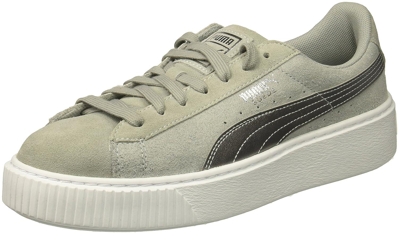 PUMA Women's Suede Platform Safari Wn Sneaker B01NAJQG5T 8.5 M US|Quarry-quarry