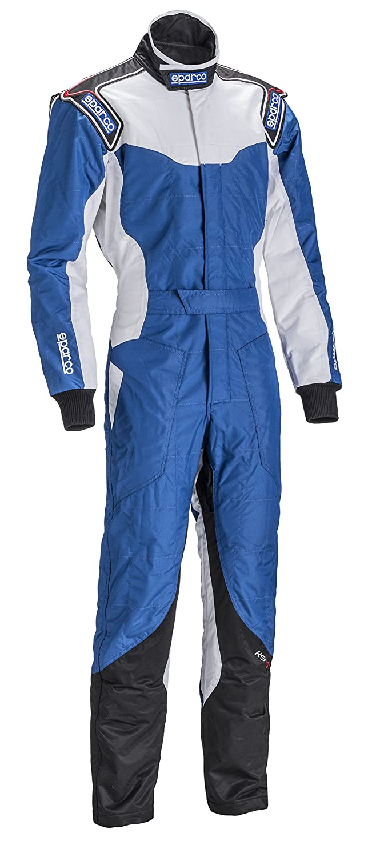 Sparco ks-5 Karting Suit (ブルー/ホワイト/ブラック、サイズ130 )B00N4XFPGE--