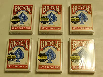 Amazon.com: 6 Barajas de Cartas Bicycle Playing Cards, pack ...