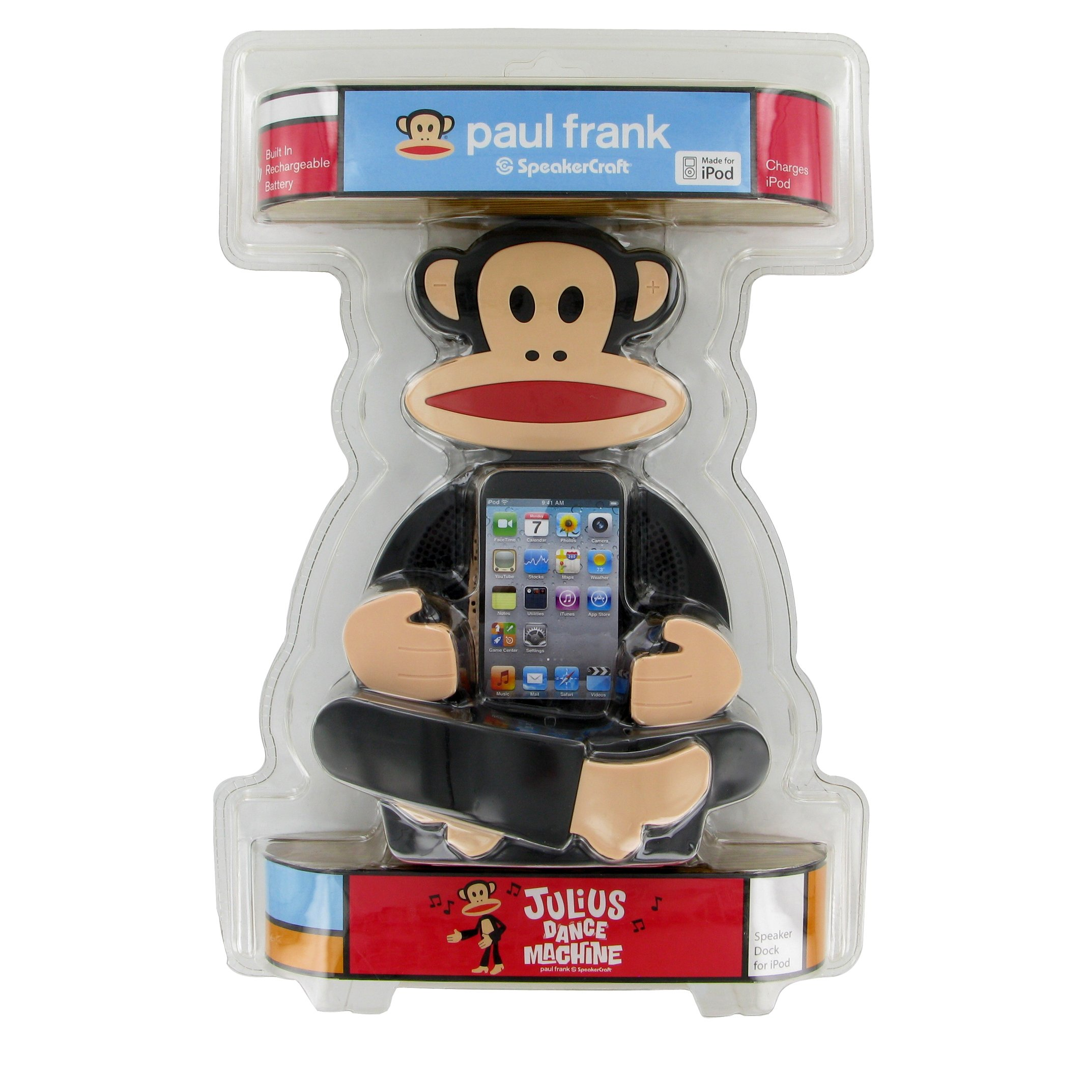 Paul Frank Julius Dance Machine Speaker Dock - Compatible with iPod / iPhone 3G 3GS 4 4S by Paul Frank