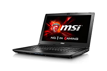 MSI GL626QD487FR Ordinateur Portable Hybride 15,6 quot  Noir (Intel Core  i5, 8 aa5ff0e04847
