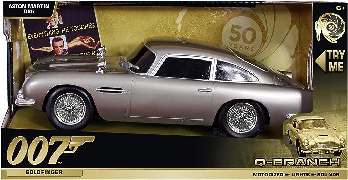 Q Branch James Bond Fahrzeuge Mit Licht Sound Und Fahrfunktion Db5 Aston Martin V12 Vanquish Goldfinger Amazon De Spielzeug