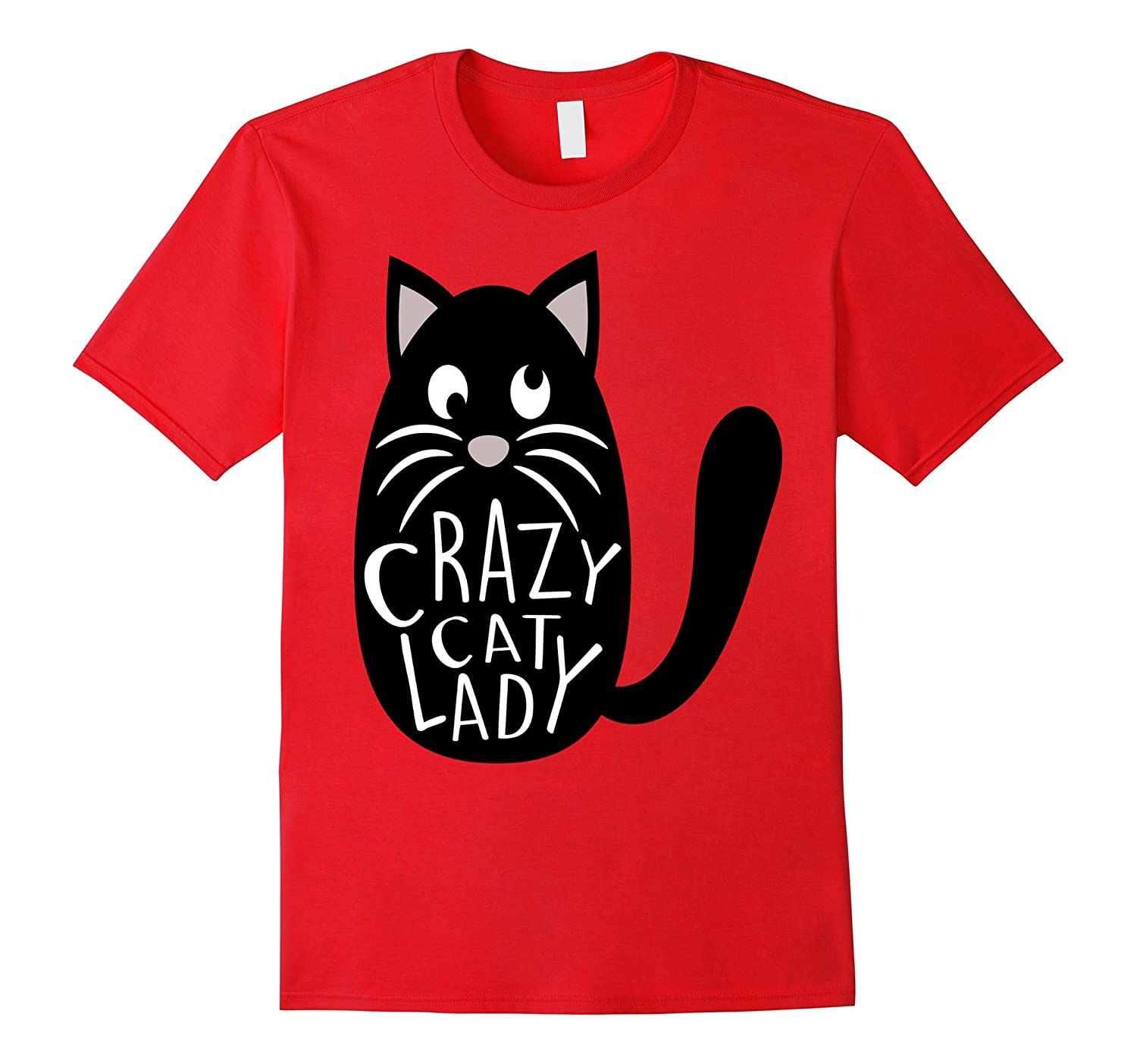 Crazy Cat Lady Shirt Cute Pet Mom Mothers Day Kitten Funny-Vaci