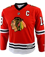 NHL Youth Boys 8-20 Toews J Blackhawks Player Replica Jersey