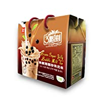 Brown Sugar Milk Tea with Jelly Pearls - Authentic Bubble Tea, by 3:15pm, 33.86oz (12 servings)