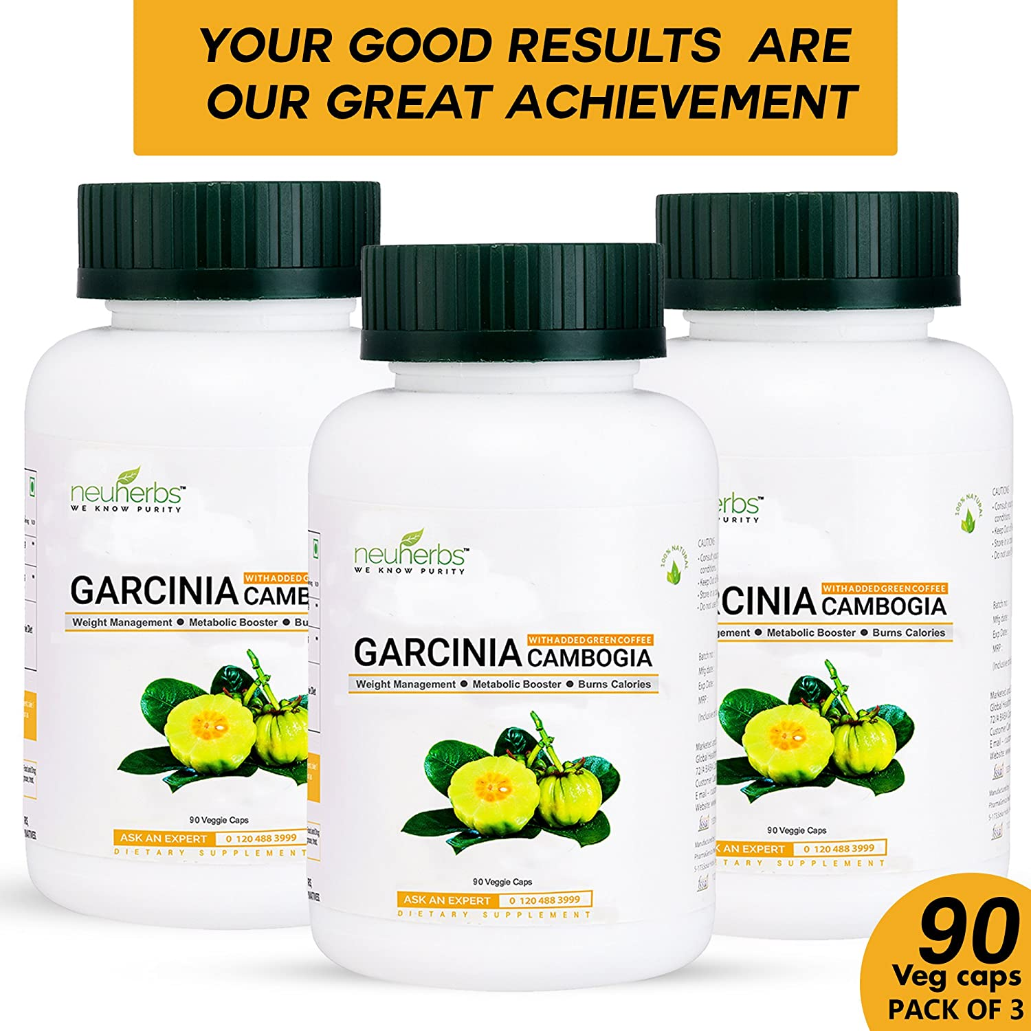 Buy Neuherbs Garcinia Cambogia With Green Coffee Extract 60 Hca