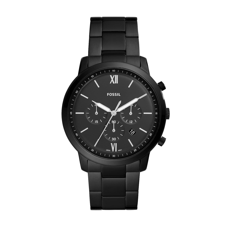 Fossil Neutra Chrono Analog Black Dial Men's Watch - FS5474