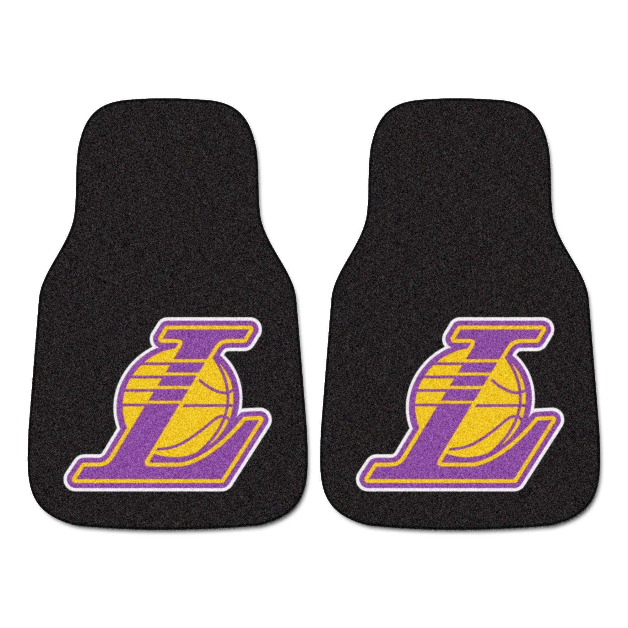 Fanmats NBA Los Angeles Lakers Nylon Face Carpet Car Mat