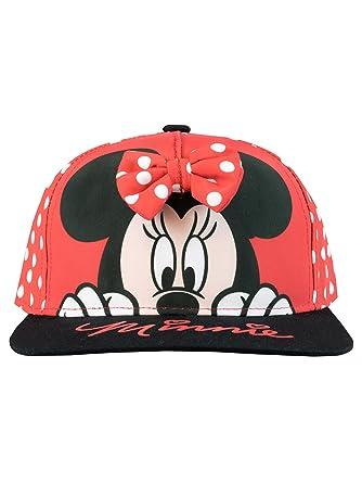 Disney Gorra para niñas Minnie Mouse Talla única: Amazon.es: Ropa y accesorios