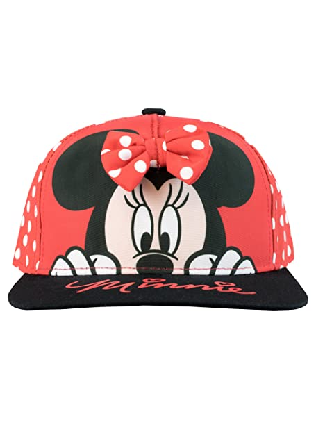 b9baf4c7 Image Unavailable. Image not available for. Color: Disney Girls' Minnie  Mouse Baseball Cap ...