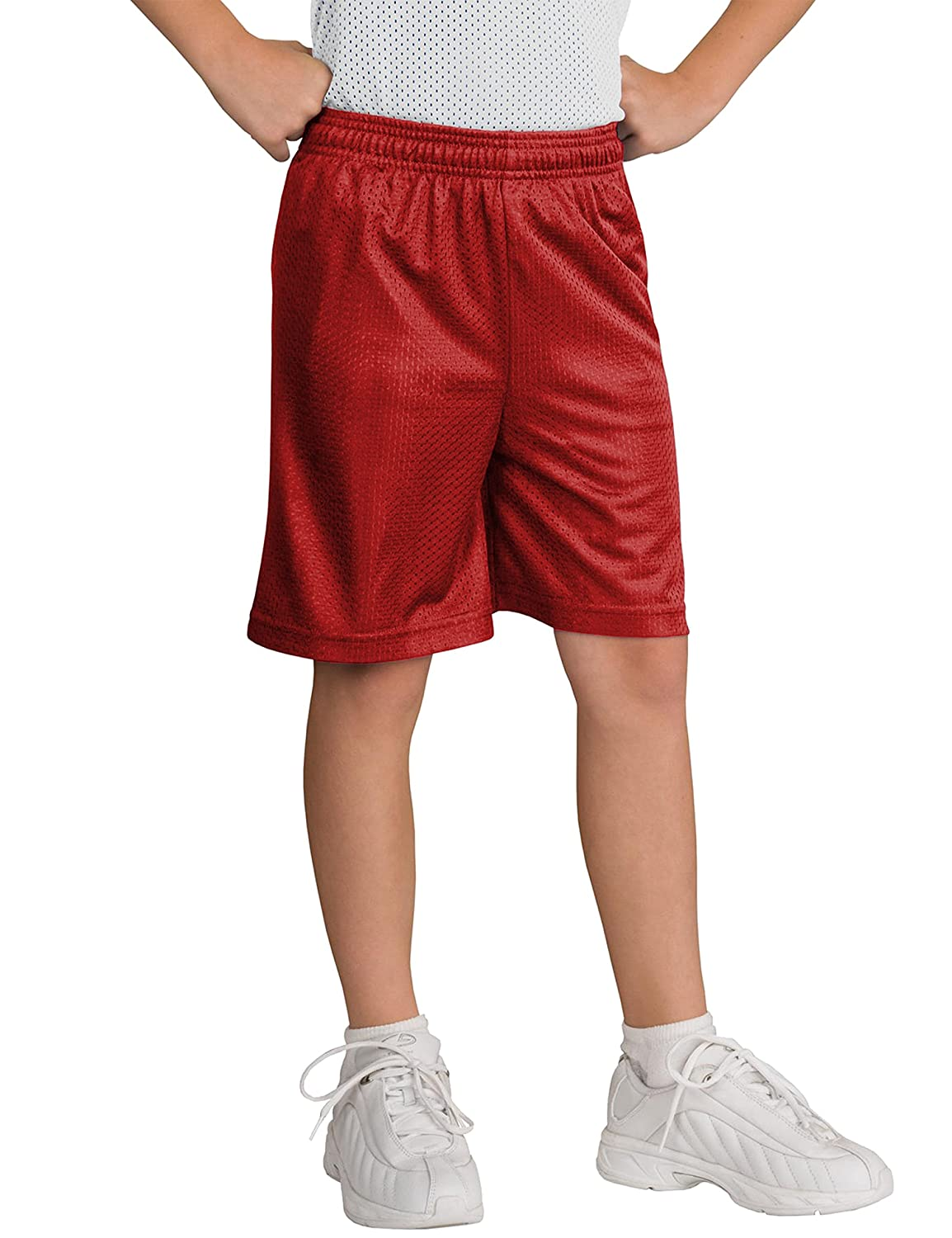 Hat and Beyond Kids Mesh Shorts Basketball Athletic Casual Sports Uniforms Jersey