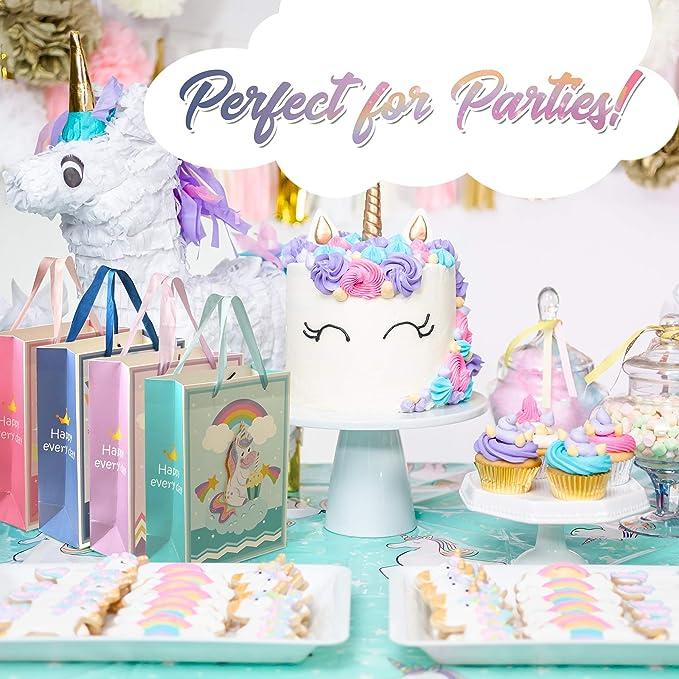 Amazon.com: Unicorn Bolsas de fiesta - Bolsas de regalo ...