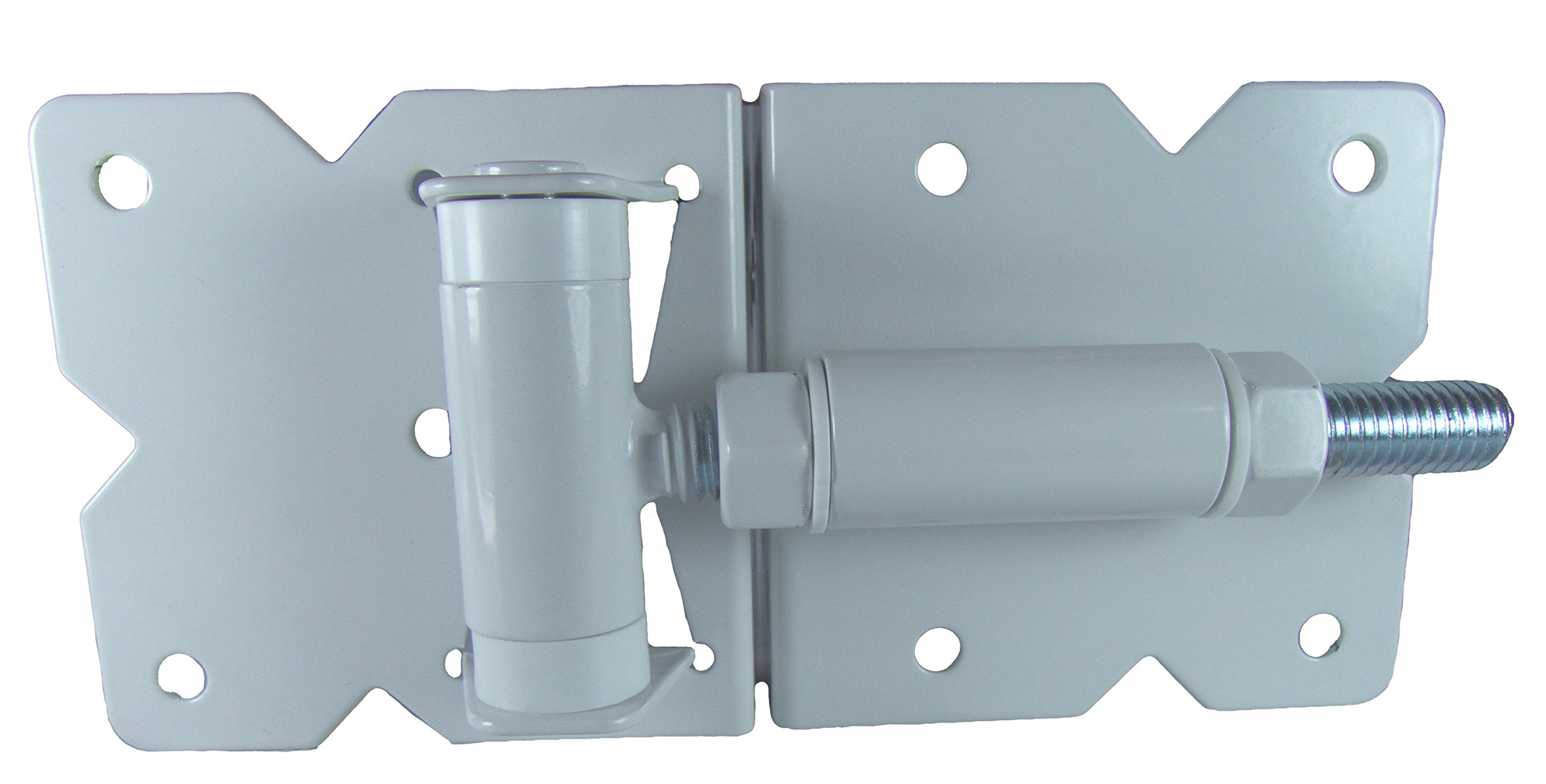 Vinyl Fence Gate Hinges (White Pair) by Custom Fence by Custom Fence (Image #2)