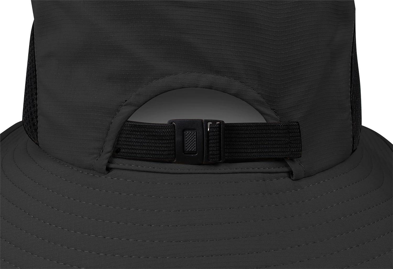 mit 360/° Netzfutter in Hutkrone normani Unisex Sonnenhut f/ür Damen und Herren Safari Sonnenschutz Kopfbedeckung Outdoor Buschhut S-XL