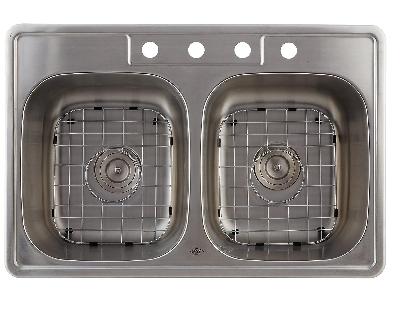 Stainless Steel Overmount Kitchen Sink Dax Om3322