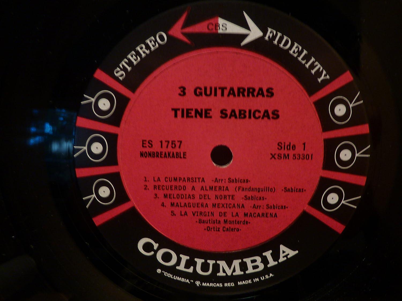 Amazon.com: 3 Guitarras Tiene Sabicas (3 Guitars of Sabicas ...