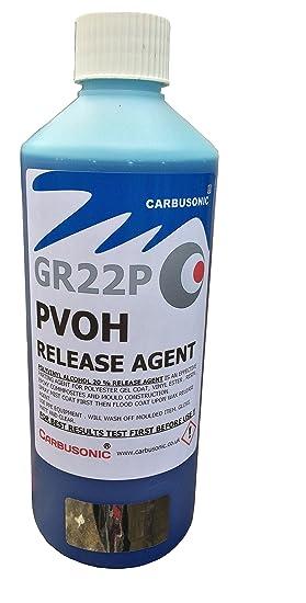 PVA para desmoldar (Alcohol de polivinilo agente de liberación brillante 500 ml: Amazon.es: Hogar