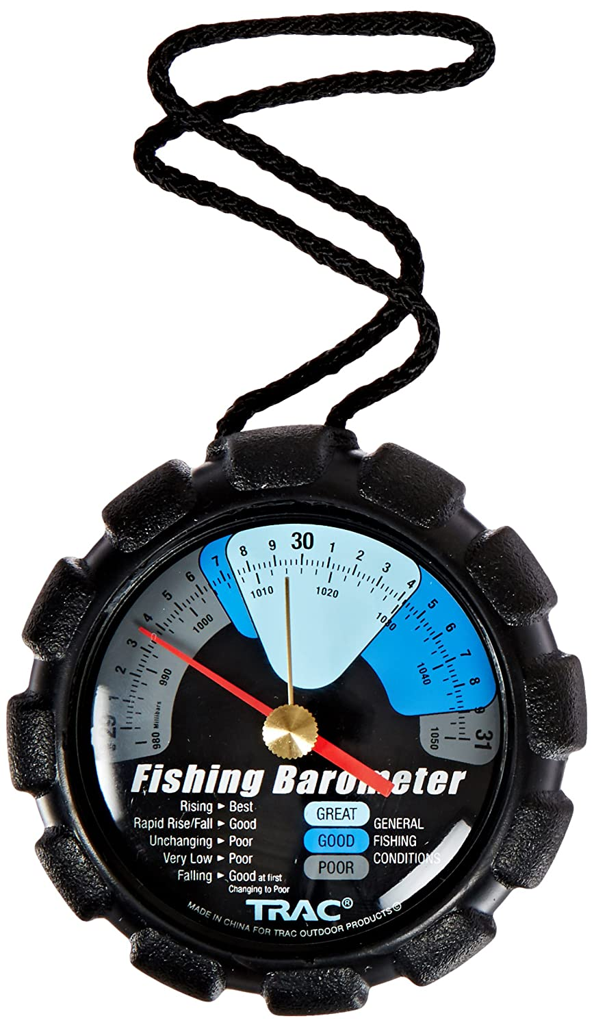 Trac outdoor t3002 fishing barometer ebay for Barometer and fishing
