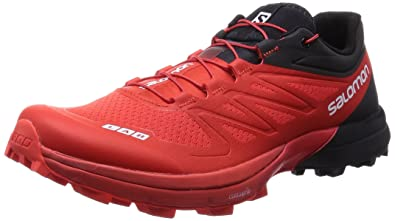 Salomon S-Lab Sense 4 Ultra SG Red Black White 45