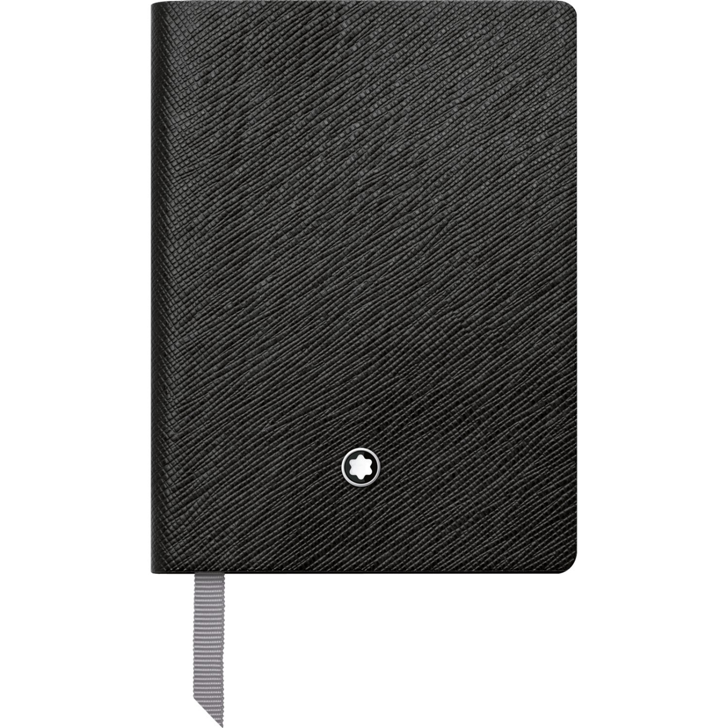 Montblanc Notebook Black Lined #145 Fine Stationery 113295 - Pocket-Size Journal with Elegant Leather Binding and Ruled Pages - 1 x (3.1 x 4.3 in.)