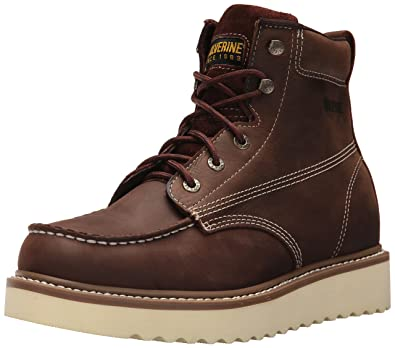 "Image result for Wolverine Men's Loader 6"" Soft Toe Wedge Work Boot"