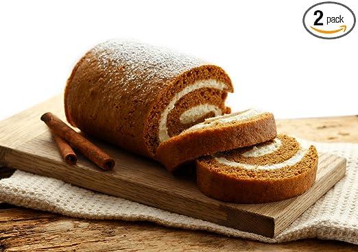 Arianna de panadería Homemade calabaza rollo con queso crema ...