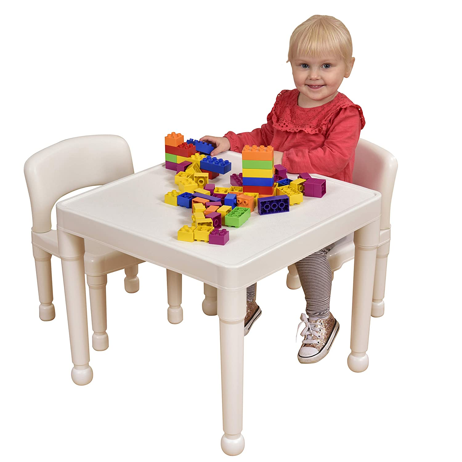 Strange Liberty House Toys Table And Chair Set White Small Dailytribune Chair Design For Home Dailytribuneorg