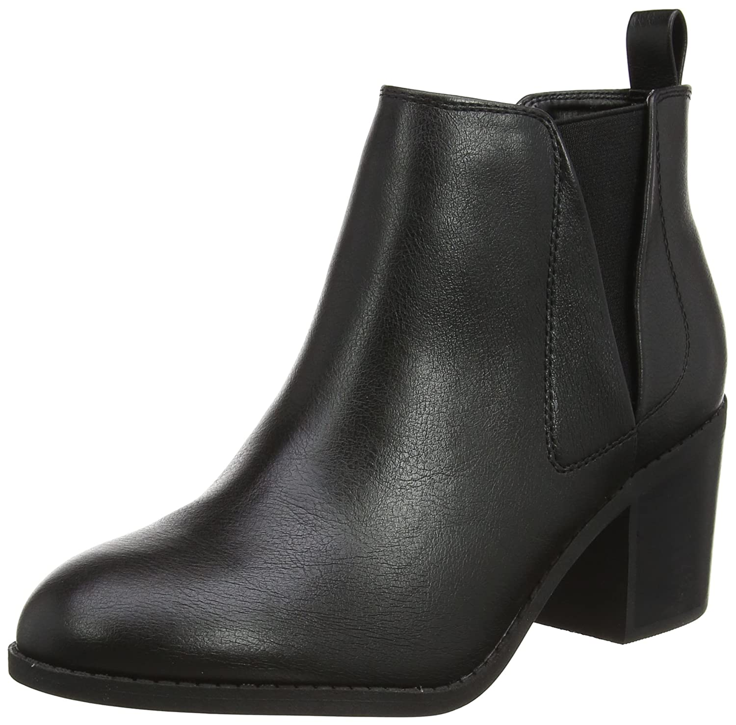 Office 15210 B01CRAY5RY Agenda Boots W, Chelsea Boots Femme Noir (Noir) 7aa3bf5 - automaticcouplings.space