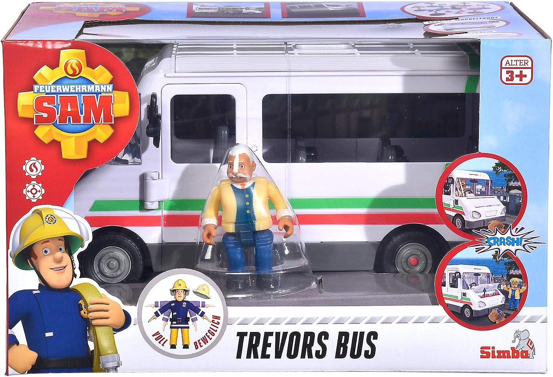 High order Fireman New color Sam Trevors Trevor Bus Up Ages 3 and