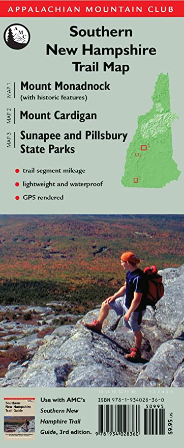 southern new hampshire trail guide hiking trails in southern new hampshire
