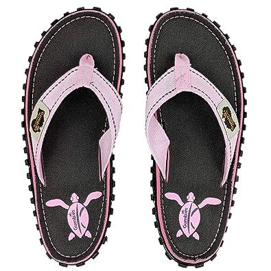 c63ee49c918e Gumbies - Islander Canvas Flip-Flops Grey Turtle  Amazon.co.uk  Shoes   Bags