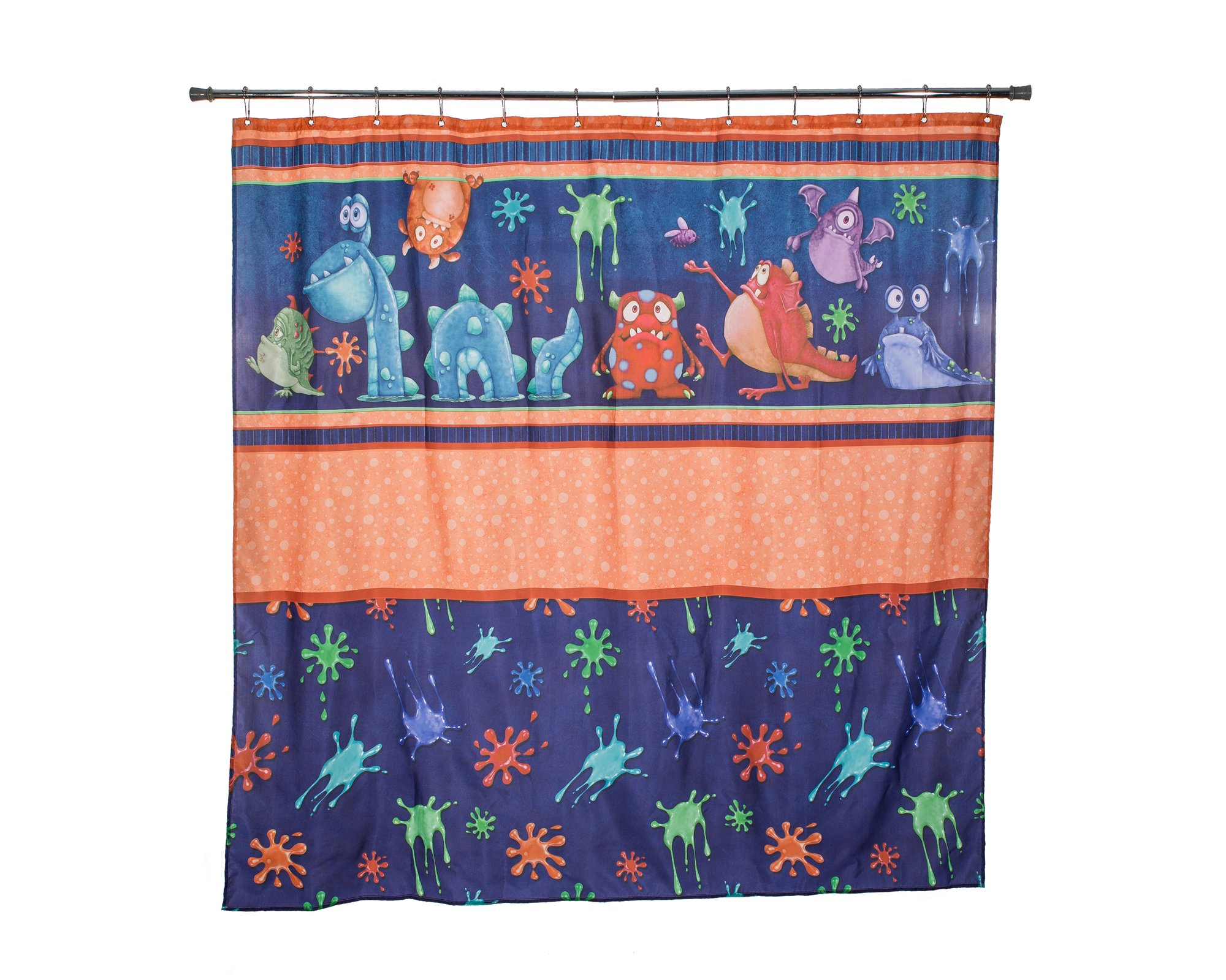 Monster Splat - Splats Shower Curtain