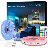 ViLSOM Led Strip Lights, 20 Feet USB Led Light Strip Kit with Remote, RGB 5050 Color Changing Led Lights for Tv…