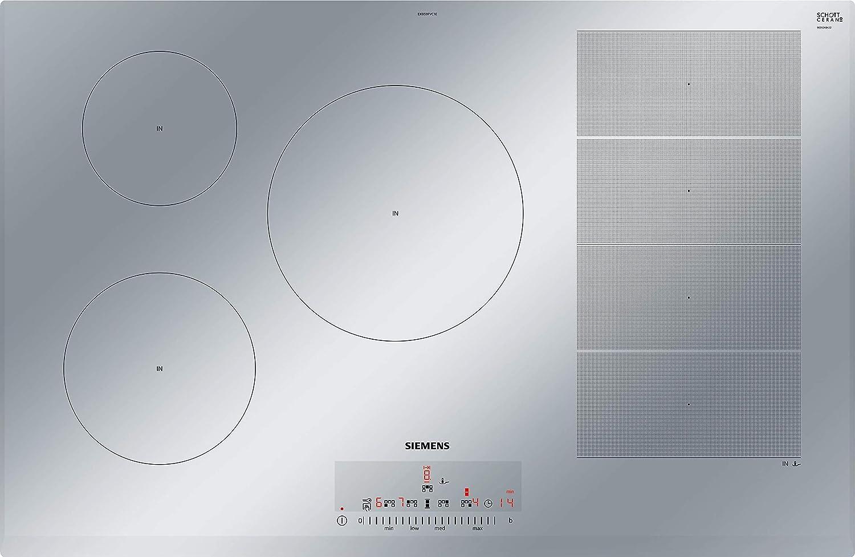 Siemens EX859FVC1E - Mesa de cocina de inducción, 80 cm ...