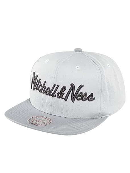 Mitchell & Ness Mujeres Gorras / Gorra Snapback Grey 2 Tone Plus ...