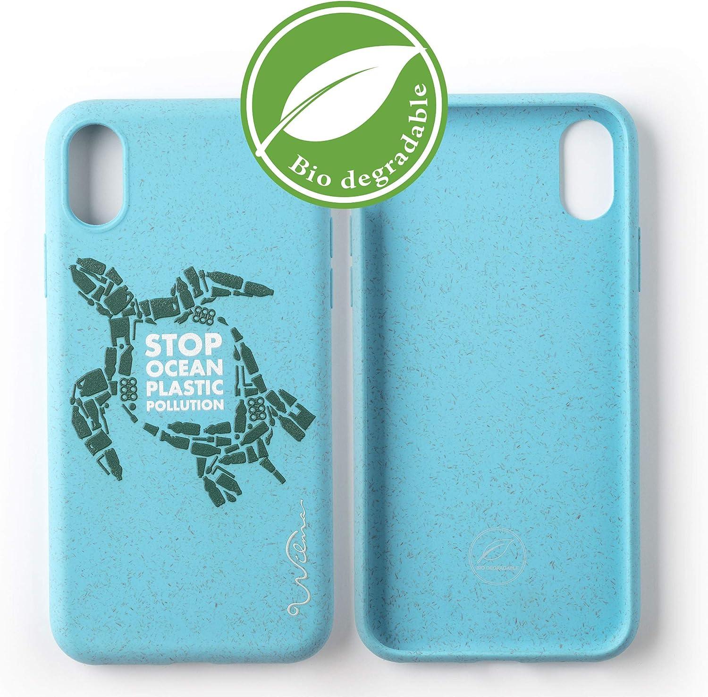 Wilma Umweltfreundliche Biologisch Abbaubare Handy Schutzhülle Passend Für Iphone 11 Stop Meeres Plastik Verschmutzung Kunststofffrei Vollschutz Hülle Schildkröte Elektronik