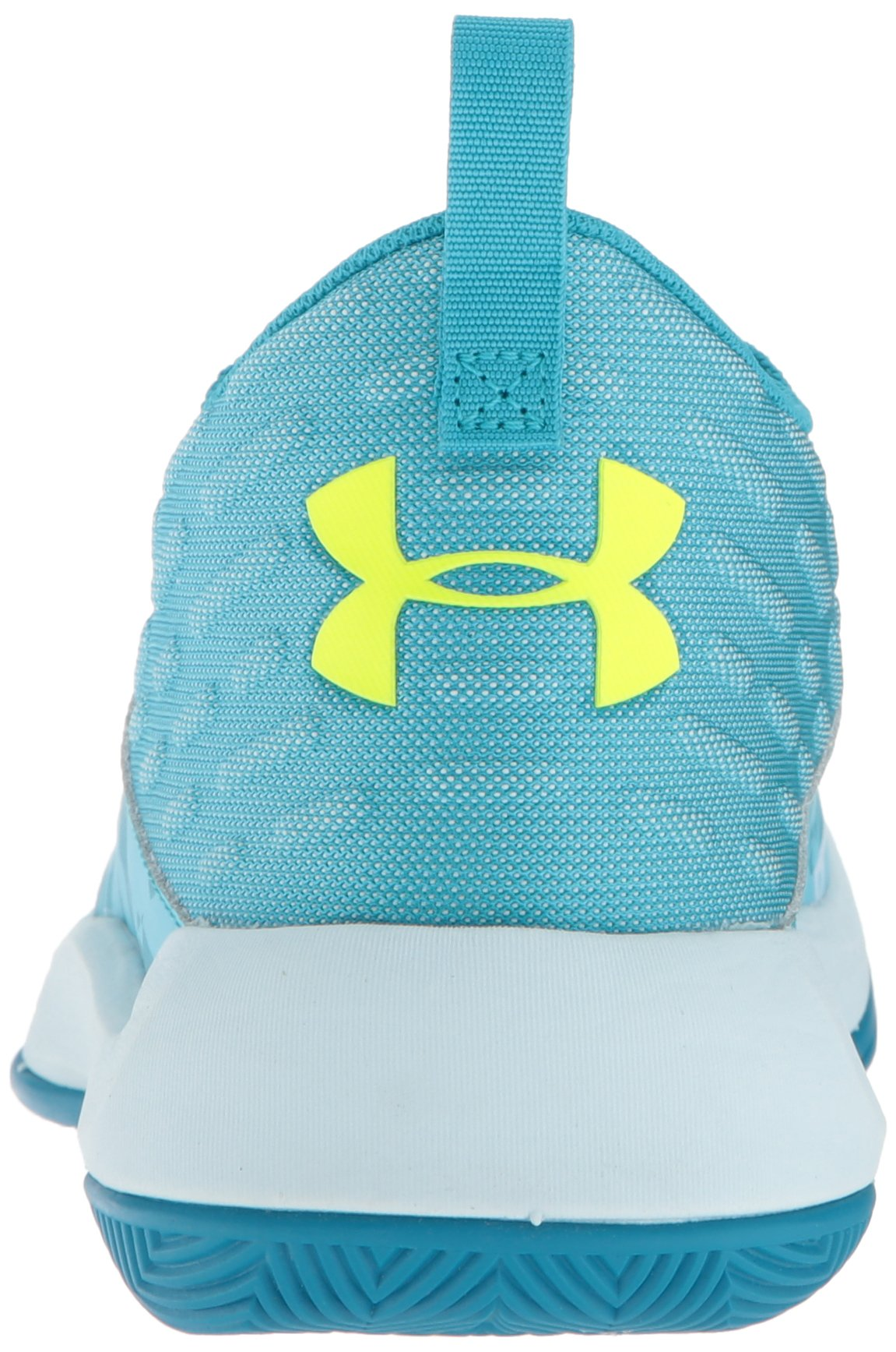 Under Armour Girls' Grade School Lightning 5 Basketball Shoe, Deceit (300)/Halogen Blue, 5.5 by Under Armour (Image #2)