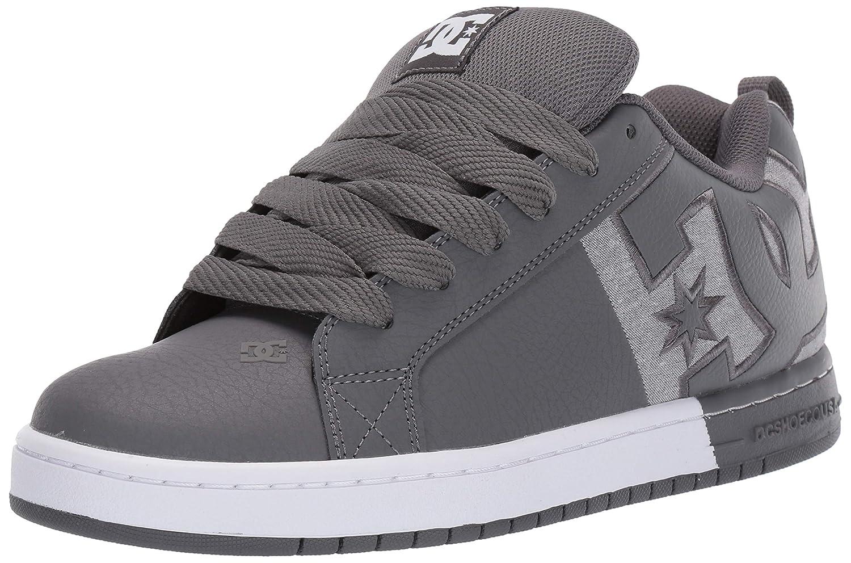 DC DC DC scarpe Uomo Court Graffik SQ Low Top scarpe da ginnastica scarpe nero Wht Blk (BWB) f8e91f