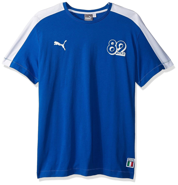 37186a678ae Amazon.com: PUMA Men's Forever Football T7 T-Shirt: Clothing