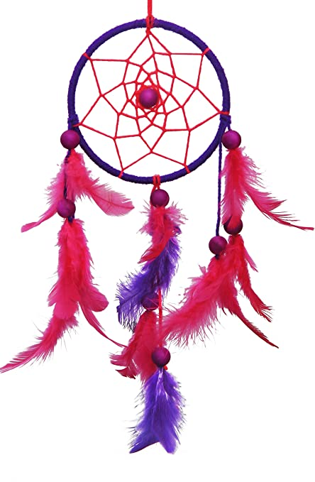 Rooh Wellness Rooh Dream Catcher Pink And Purple Small Amazon Gorgeous Small Dream Catchers For Sale