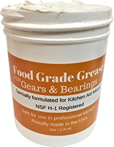 4oz Food Grade Grease for Kitchen Stand Mixers Made In The USA