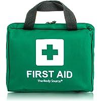 90-teiliges Premium Erste-Hilfe-Set - enthält Sofort Kühlpacks, Augenspülung, Rettungsdecke für zu Hause, Büro oder Auto | Grün