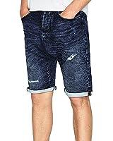 Jean Denim Bermuda Homme tissu Zara Pas Cher c3AjR54Lq